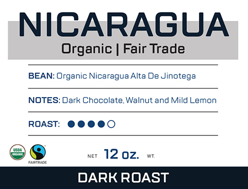 Dark Nicaragua Organic